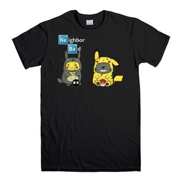 NEIGHBOR TOTORO POKEMON Men's T-Shirt