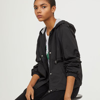 Hooded Jacket - Black - Ladies | H&M CA