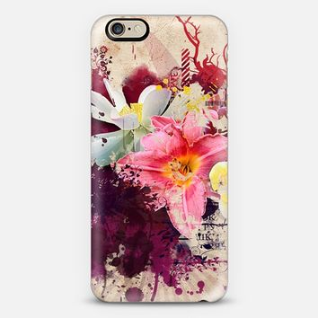 Country Floral iPhone 6 case by Allison Reich | Casetify