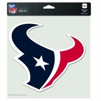 NFL Houston Texans 8-by-8 Inch Diecut Colored Decal