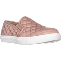 Steve Madden Ecntrcqt Slip-on Fashion Sneakers, Blush, 10 US