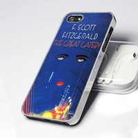 CDP 0043 The Great Gatsby Blue Cover -  Design - iPhone 4 / 4S / 5 - Black / White / CleaWar