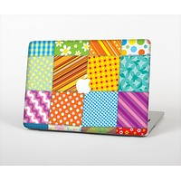"The Patched Various Hot Patterns Skin Set for the Apple MacBook Pro 13"" with Retina Display"