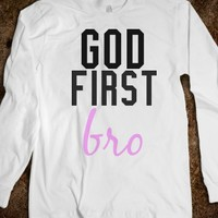 God first bro