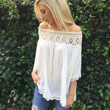 Boho Lux Lace Top