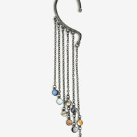 Blackheart Solar System Dangle Ear Cuff