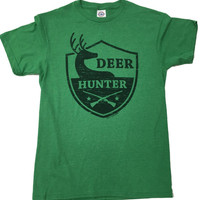 Deer Hunter Heather Hunting T-Shirt - Unisex Adult S - 2XL (Exclusive)