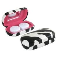 AS411 Zebra Contact Lens Case