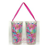 Insulated Tumbler Set in Trippin' and Sippin' by Lilly Pulitzer