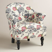 Laurent Floral Lorna Chair
