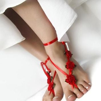 Ladies Shiny Cute Stylish Sexy New Arrival Gift Jewelry Hot Sale Beach Anklet [1292353765443]