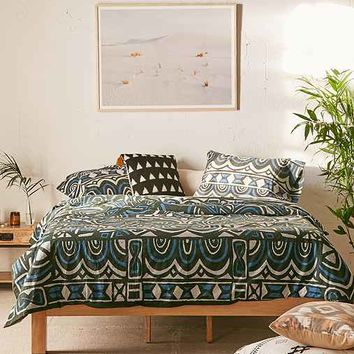 Magical Thinking Kessi Block Medallion Duvet Cover