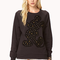 Studded Mickey Mouse© Sweatshirt