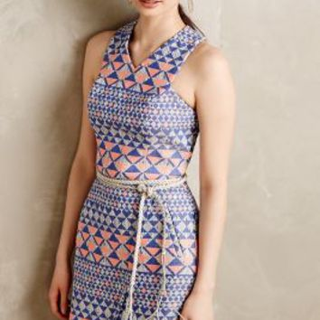 Mesa Jacquard Dress by Nomad by Morgan Carper Purple Motif