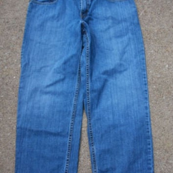 Levi's Relaxed Fit 550 Blue Jeans Men's Size 33W X 28L