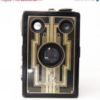 33% OFF SALE Vintage Kodak Brownie Box Camera, Mid Century