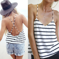 One Piece Summer Women Print Shirts Cotton   Sleeve Sports Tops Blouse Fashion Women Ladies Summer Clothing beach  = 6141560839