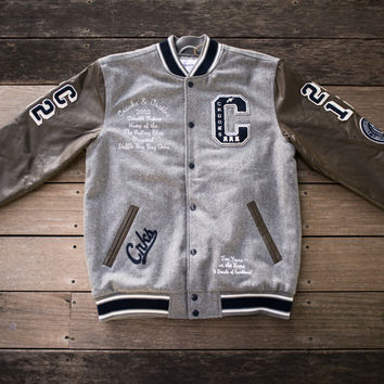 Crooks & Castles - Decadent Letterman Heather/Navy
