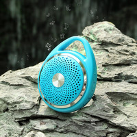 W-KING S6 Micro Wireless Ultra-Portable Bluetooth Speaker with Hand-free Call   TF - Blue