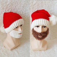 Top hat for men and women in autumn and winter, hand knitted sweater cap 171123