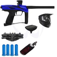 Smart Parts GOG eNMEy Paintball Gun MEGA Ninja N2 HPA Package - Blue - Paintball Store WaveToGo