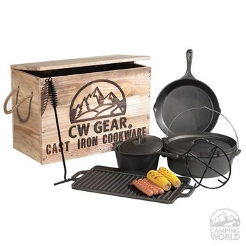 CW Gear Cast Iron Cookware Set
