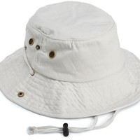 Seirus Innovations Quick Shade Safari Hat with UV Protection for Head, Face, and Neck (Tan Solid, Large/X-Large)