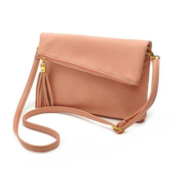 Pink Cute Crossbody Bags for Female Small Leather Designer Shoulder bags  High quality women messenger and shoulder bags