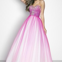 Ball Gowns - Pink by Blush Prom Pink Style 5202
