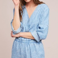 Cloth & Stone Chambray Romper
