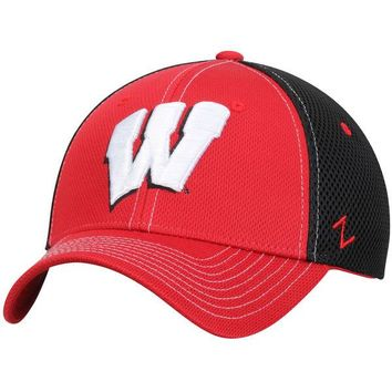 Wisconsin Badgers Zephyr Rally Flex Hat