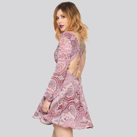 Purple Haze Paisley Dress - Gypsy Warrior
