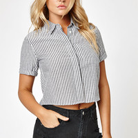 LA Hearts Striped Button Down Top at PacSun.com