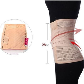 Postpartum Recovery Maternity Compression Waist Band Belt Body Slimming Shaper (Color: Beige) = 1945716612