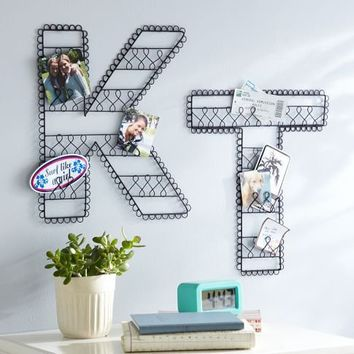 Wire Wall Letters | PBteen