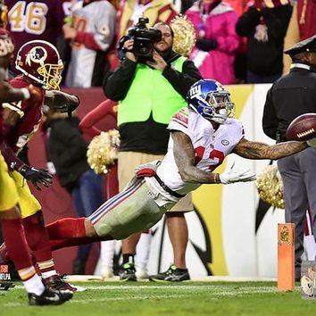 NOVO5 Odell Beckham Jr Diving TD Catch vs Redskins 16x20 Photo PF nbrAASN154