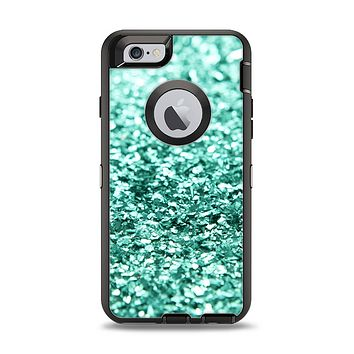 The Glimmer Green Apple iPhone 6 Otterbox Defender Case Skin Set