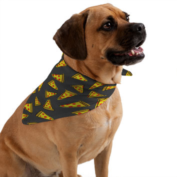 Leah Flores Pizza Party Pet Bandana