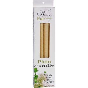 Wally's Candle - Plain - 4 Candles
