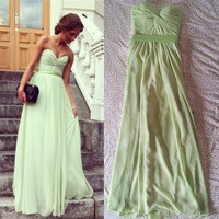 Charming Floor Length Prom Dress / Graduation by FashionProm