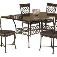 5752 Brescello 5-Piece Rectangle Dining Set - Free Shipping!