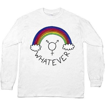 Whatever Gender -- Unisex Long-Sleeve