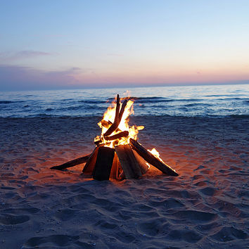 bonfire on the beach - Google Search