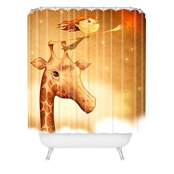 Jose Luis Guerrero Star 1 Shower Curtain