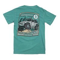 On the Rocks Tee in Seafoam by Fripp & Folly