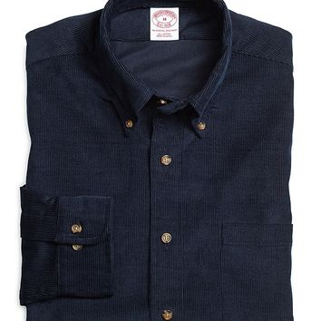 Regular Fit Corduroy Sport Shirt - Brooks Brothers