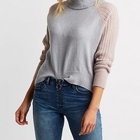 Colorblock Cowl Neck Sweater | Charlotte Russe