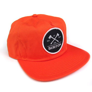 Burton: Woodsman Snapback - Red Clay