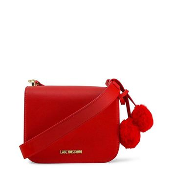 Love Moschino Jc4324Pp06Kw Women Red Crossbody Bags