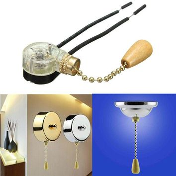 Retro Ceiling Fan Light Pull Chain Switch Convenient Wall light Replacement CN